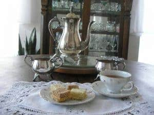 Afternoon tea - a civilized custom for an uncivilized age